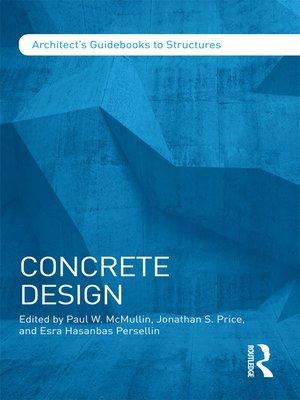 cover image of Concrete Design