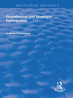 cover image of Globalisation and Employee Participation