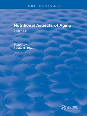 cover image of Nutritional Aspects of Aging