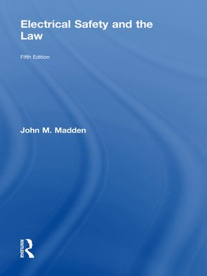 cover image of Electrical Safety and the Law