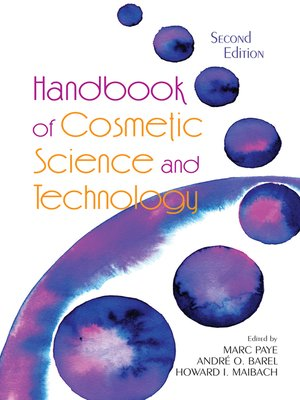 cover image of Handbook of Cosmetic Science and Technology