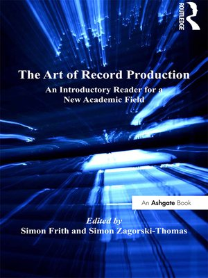 cover image of The Art of Record Production