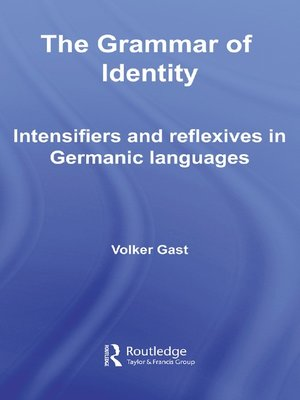 cover image of The Grammar of Identity