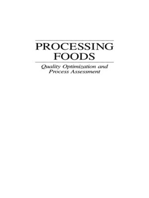 cover image of Processing Foods
