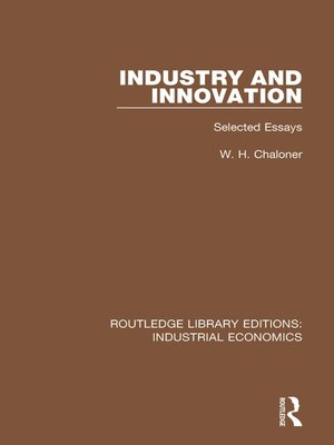 cover image of Industry and Innovation