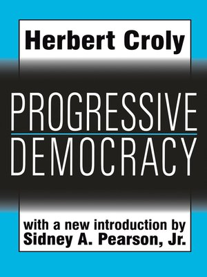 cover image of Progressive Democracy