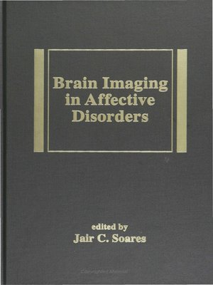 cover image of Brain Imaging in Affective Disorders