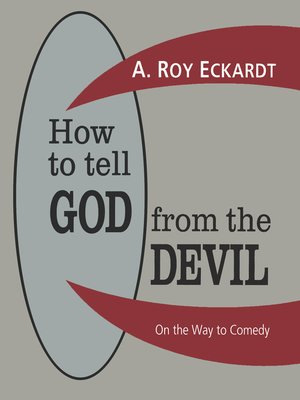 cover image of How to Tell God from the Devil