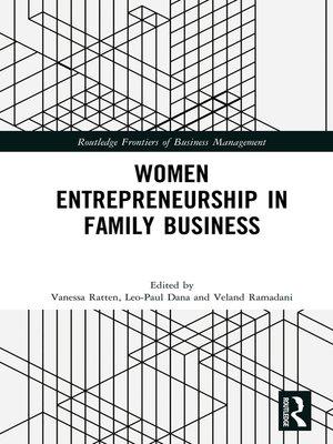 cover image of Women Entrepreneurship in Family Business