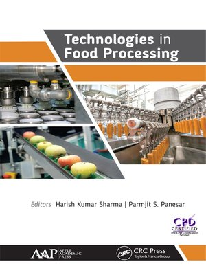 cover image of Technologies in Food Processing