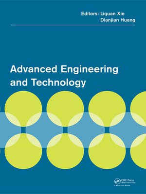 cover image of Advanced Engineering and Technology