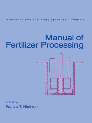 cover image of Manual of Fertilizer Processing