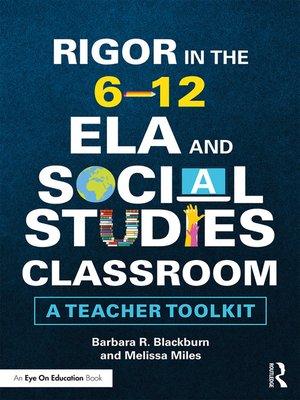 cover image of Rigor in the 6–12 ELA and Social Studies Classroom