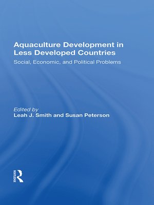 cover image of Aquaculture Development In Less Developed Countries