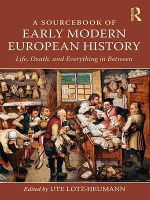 cover image of A Sourcebook of Early Modern European History