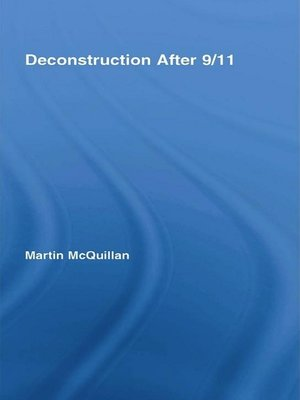 cover image of Deconstruction After 9/11