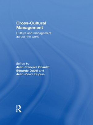 cover image of Cross-Cultural Management