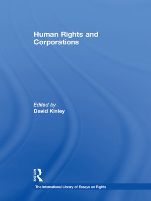 cover image of Human Rights and Corporations