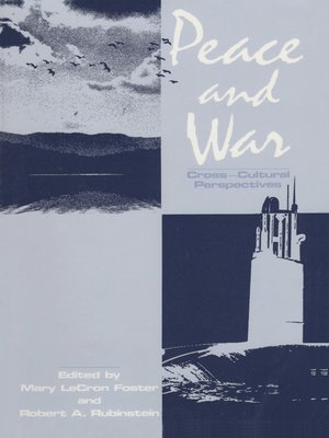 cover image of Peace and War