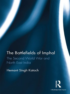 cover image of The Battlefields of Imphal