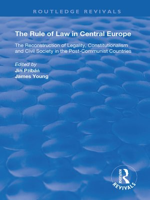 cover image of The Rule of Law in Central Europe