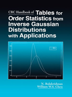 cover image of CRC Handbook of Tables for Order Statistics from Inverse Gaussian Distributions with Applications