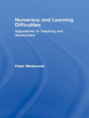 cover image of Numeracy and Learning Difficulties