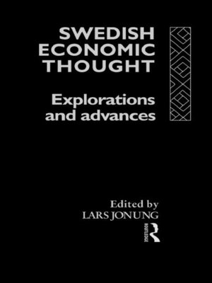 cover image of Swedish Economic Thought