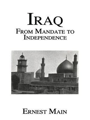 cover image of Iraq From Manadate Independence