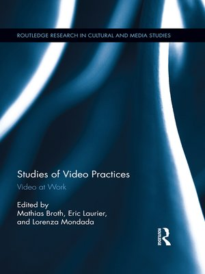 cover image of Studies of Video Practices