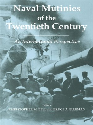 cover image of Naval Mutinies of the Twentieth Century