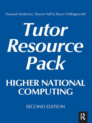 cover image of Higher National Computing Tutor Resource Pack