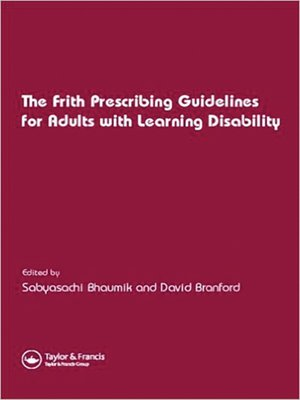 cover image of Frith Prescribing Guidelines for Adults with Learning Disability