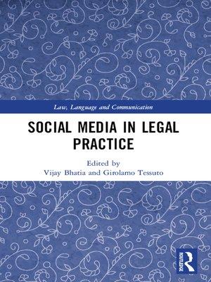 cover image of Social Media in Legal Practice