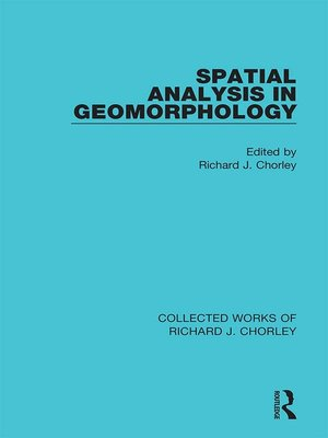 cover image of Spatial Analysis in Geomorphology