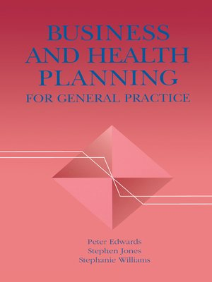 cover image of Business and Health Planning in General Practice