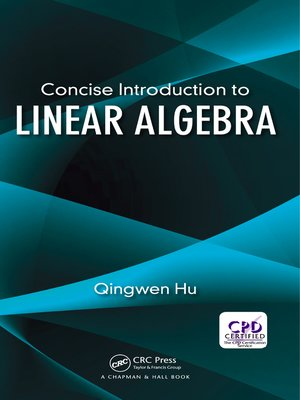 cover image of Concise Introduction to Linear Algebra