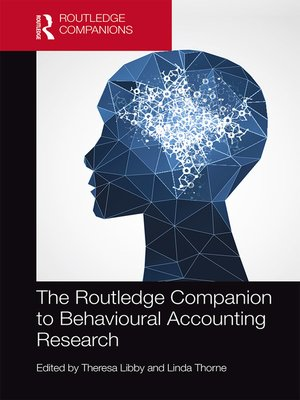 cover image of The Routledge Companion to Behavioural Accounting Research