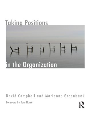 cover image of Taking Positions in the Organization