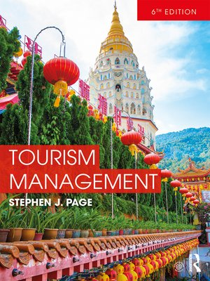 cover image of Tourism Management