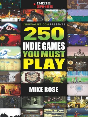 cover image of 250 Indie Games You Must Play