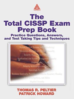 cover image of The Total CISSP Exam Prep Book