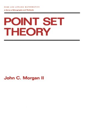 cover image of Point Set Theory