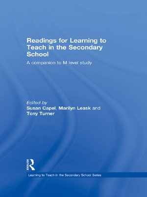 cover image of Readings for Learning to Teach in the Secondary School