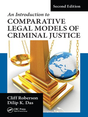 cover image of An Introduction to Comparative Legal Models of Criminal Justice