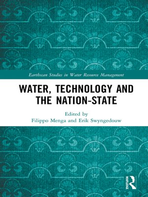 cover image of Water, Technology and the Nation-State