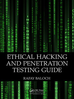 cover image of Ethical Hacking and Penetration Testing Guide