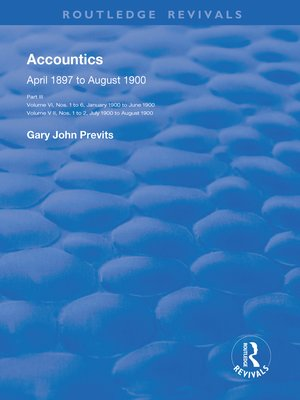 cover image of Accountics, Part III