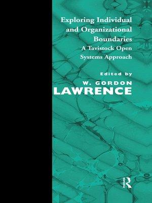 cover image of Exploring Individual and Organizational Boundaries