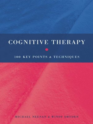 cover image of Cognitive Therapy